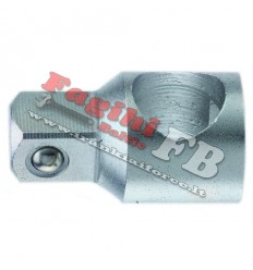 Adapteris, su skyle, 3/8` (F) vidus, ,, 3/8` (M) išorė, L-35mm