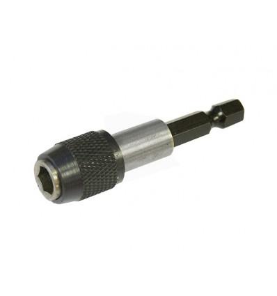 Adapteris, su fiksacija, 1/4` (M) išorė, ,, 1/4` (F) vidus, L-60mm