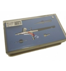 Aerografas, 12l/min, 1.5ml, 0.2mm, bakelis viršuje