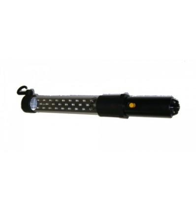 Lempa, 27, 9, LED, 2-funkcijų, įkraunama