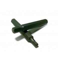Antgalis, H6, Hex, 10mm, ilgas, L-75mm