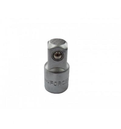 Adapteris, 3/8` (F) vidus, ,, 1/2` (M) išorė, L-46mm