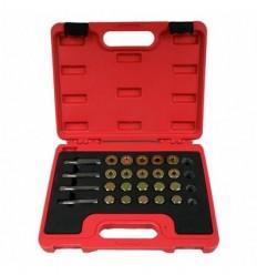 Repair kit for crankcase oil drain screw, 64d.