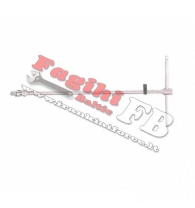 Key Screwdriver, T-formos, 1/2`, L-700mm