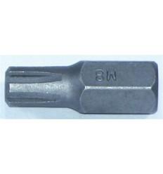 Bit, M6, Ribe, 10mm, L-30mm