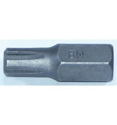 Antgalis, M8, Ribe, 10mm, L-30mm