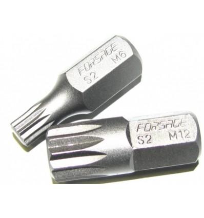 Antgalis, M6, Spline, 10mm, L-30mm
