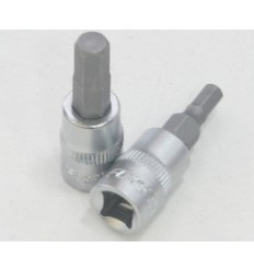 Galvutė antgalis, H6, Hex, 1/4`, L-32mm