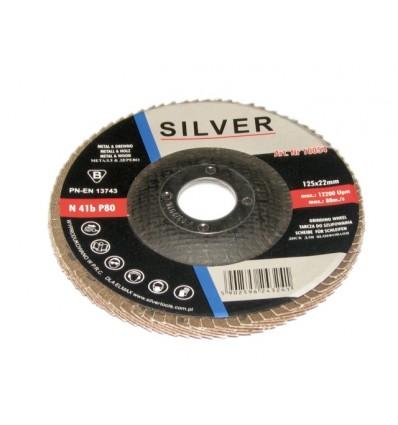 Diskas, šlifavimui, Nr.40, Ø125mm, 22.2mm, 12200rpm