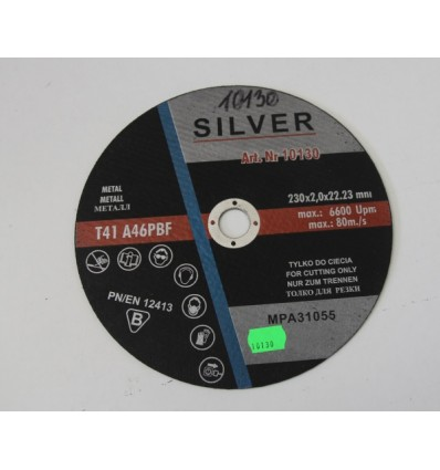Diskas, pjovimui, 2.0mm, Ø230mm, 22.23mm, 6600rpm