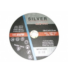 Diskas, pjovimui, 2.5mm, Ø230mm, 22.23mm, 6600rpm