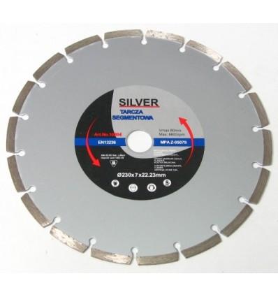 Diskas, pjovimui, deimantinis, 7mm, Ø230mm, 22.23mm, 6600rpm