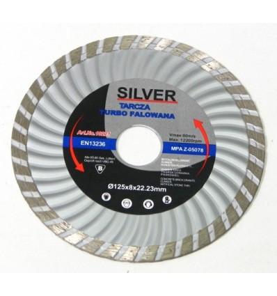 Diskas, pjovimui, deimantinis, 8mm, Ø125mm, 22.23mm, 12200rpm