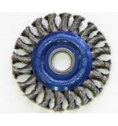 Šepetys, su skyle, plokščias, Ø115mm, 22.2mm(F), 12500rpm
