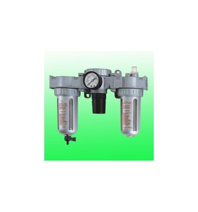 Oro filtras su tepaline, reguliuojamas, su manometru, 5µ, 3000l/min, 14.5bar, 10.5bar, 1/2`(F)