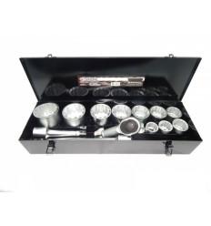 Įrankių rinkinys, 15d., 1`, 12br., (36-80mm)