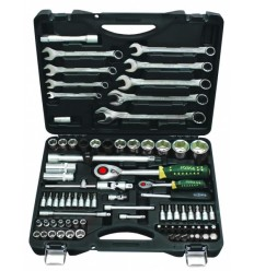 Tools Set, 82d., 1/4`, 1/2`, 6br., (4-32mm)