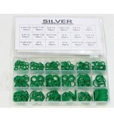 Sandarinimo žiedų, R134A, guminių, žalių