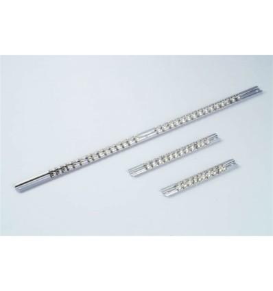 Laikiklis galvučių, 1/4`, L-160mm, metalinis, juostelė