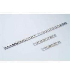 Laikiklis galvučių, 1/4`, L-560mm, metalinis, juostelė