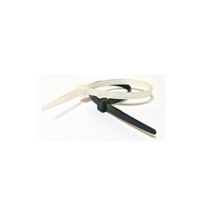 Tvirtinimo dirželis, juodi, L-286mm, plastikinis
