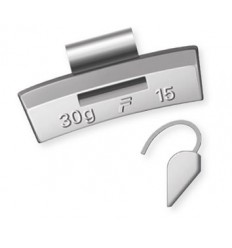 Svareliai balansavimui (100vnt kompl.), 15g, lietiems ratams, švinas-Pb