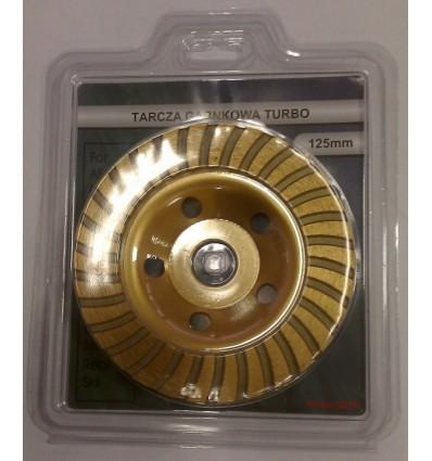 Diskas, šlifavimui, deimantinis, 5mm, Ø125mm, 22.2mm, 12200rpm