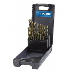 Drill Bits Set, 1-10mm, 19d., HSS-CO 5%, DIN338