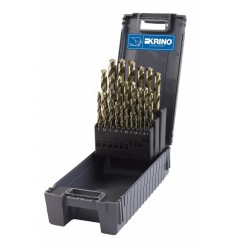 Drill Bits Set, 1-13mm, 25d., HSS-CO 5%, DIN338