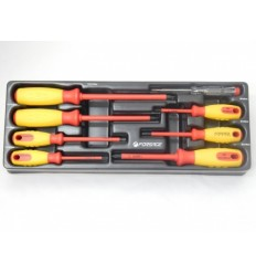 Screwdrivers Set, izoliuotų, 8d., Phillips Slotted