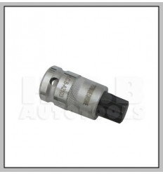 Bit Socket, M16, Spline, 1/2`, L-55mm