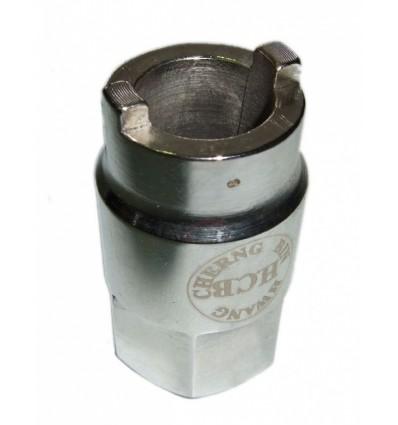 Galvutė amortizatoriams, 2br.-5mm, 14.5, L-45mm, Hex 22mm