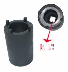 Galvutė vairo kolonėles, smūginė, 1/2`, 41.5 x 5mm, DAF