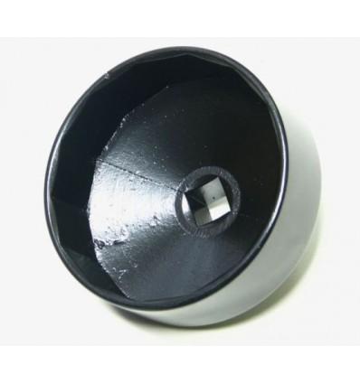 Galvutė tepalo filtrui, aliuminė, 1/2`, 84mm, 14br.
