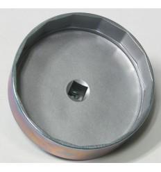 Galvutė tepalo filtrui, aliuminė, 15br., 1/2`, 107mm, VOLVO