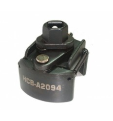 Tepalo filtro raktas, 60-80mm, suspaudžiamas, 2-lankų, 1/2`