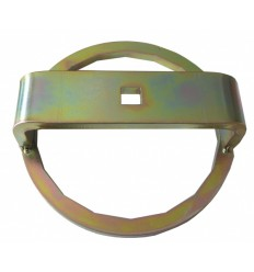 Oil Filter Wrench, plienas, 18br., 1/2`, 135mm, MAN