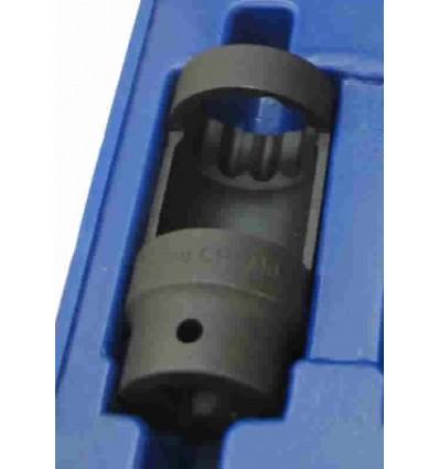 Galvutė purkštukams, smūginė, ilga, 1/2`, 12br., 28, L-110mm