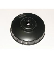 Tepalo filtro raktas, presuotas plienas, 96mm, 18br.