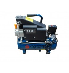 Oro kompresorius, stūmoklinis, 1 cilindro, 9l, 220V, 0.75kW, 36l/min, 2850rpm, 8bar