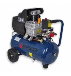 Oro kompresorius, stūmoklinis, 1 cilindro, 24l, 220V, 1.8kW, 198l/min, 2850rpm, 10bar