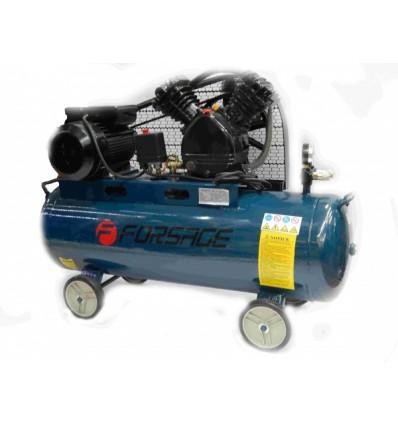Oro kompresorius, stūmoklinis, 2 cilindrų, 70l, 220V, 2.2kW, 311l/min, 1020rpm, 10bar