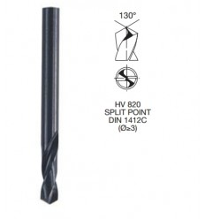 Drill Bit, Ø 10.0mm, HSS-G, DIN1897, 43mm, 89mm