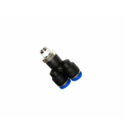 Jungtis, PVC vamzdeliui, Y-formos, 1/8`(M), 8mm