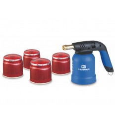 Gas Burner + 4 dispenser
