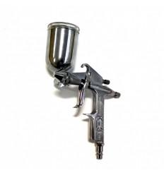 Dažymo pistoletas, aliuminis, 200ml, 0.5mm, bakelis viršuje