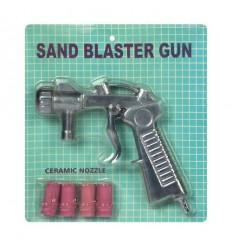 Smėliavimo pistoletas su keramikiniais antgaliais