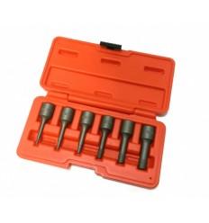 Išsukiklių rinkinys 6d., 3/8`, 6d., (M2-M10), L-60mm