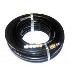Suspausto oro žarna, tiesi, su jungtimis, L-15m, 17mm, 10mm, guminė armuota