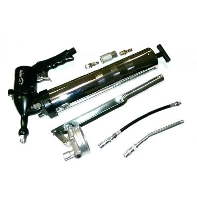 Tepimo pistoletas, metalas, 500ml, 412bar, pneumatinis, rankinis